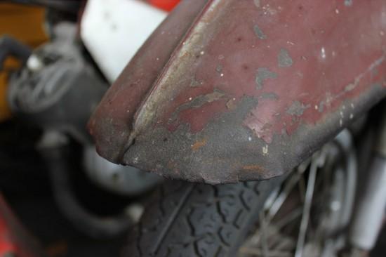 Moped kaufen - Schutzblech