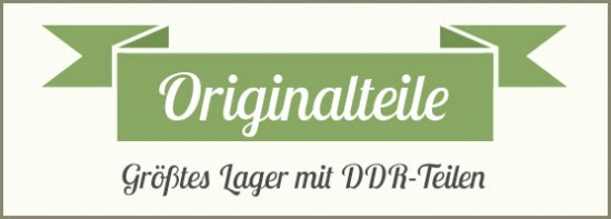 DDR Originalteile
