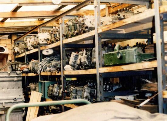 Sausewind Ersatzteile Hostorie 1977