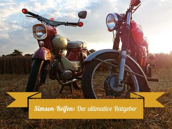 Simson Reifen-Ratgeber