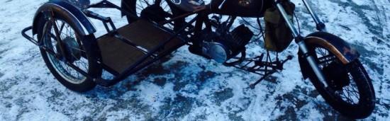 Simson-Reifen im Winter